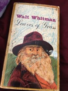 whitman leaves of grass my book