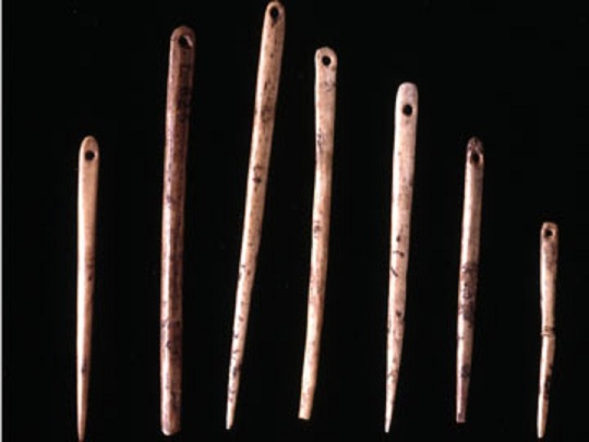 ice-age sewing needles