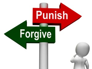 punish forgive pardon