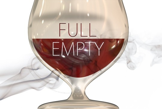 glass full or empty